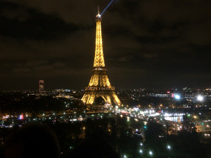 OpenStack  Paris Design Summit - Eiffel Tower at Night